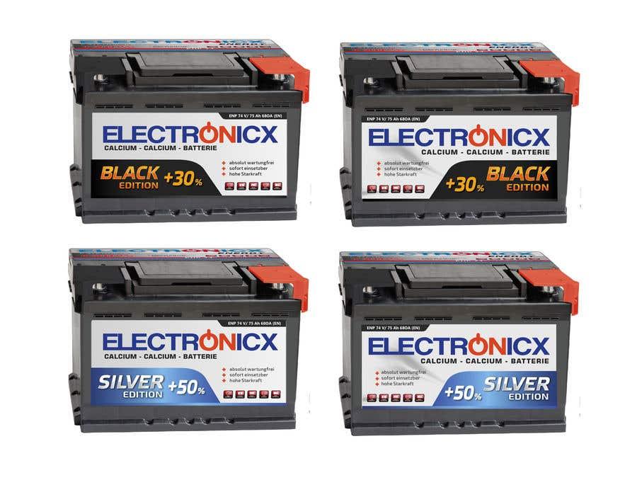 Penyertaan Peraduan #209 untuk Car Battery Design