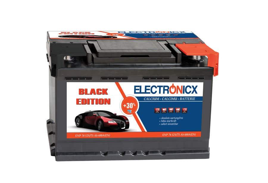 Penyertaan Peraduan #277 untuk Car Battery Design