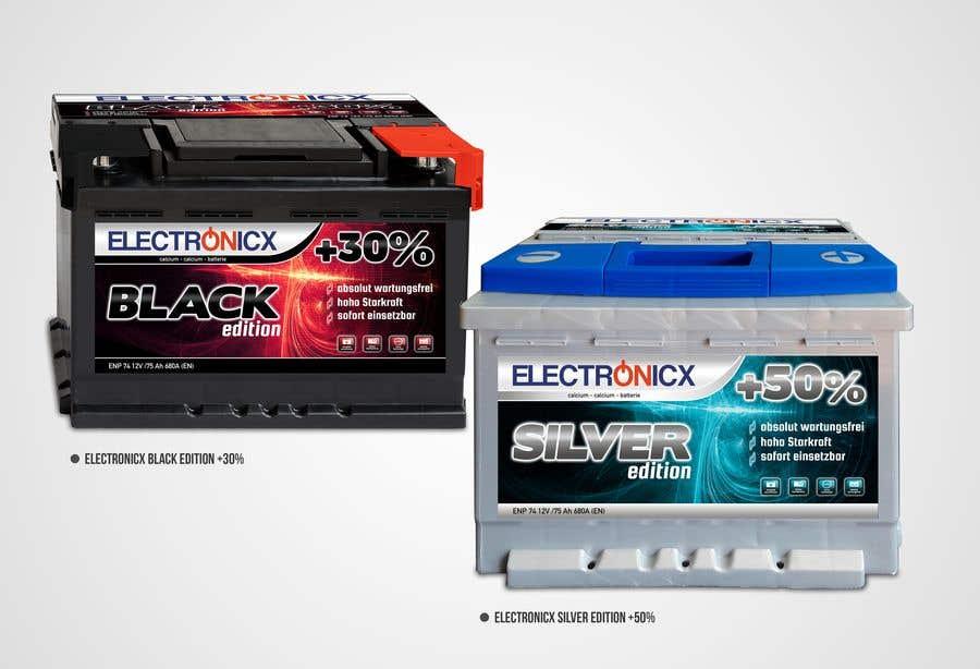 Penyertaan Peraduan #284 untuk Car Battery Design