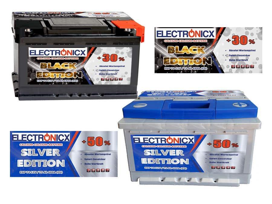 Penyertaan Peraduan #230 untuk Car Battery Design