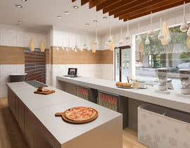 nº 5 pour service area for a restaurant interior design par YasharLuxuryArt