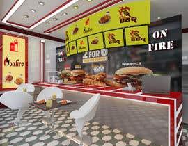 nº 9 pour service area for a restaurant interior design par YasharLuxuryArt