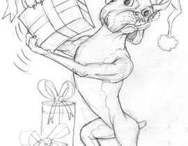 #7 for Boxer Dog drawings  . comedic . . af ecomoglio