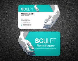 #88 para Business cards for a plastic surgeon's practice por ershad0505