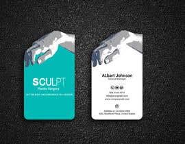 nº 108 pour Business cards for a plastic surgeon's practice par Designopinion