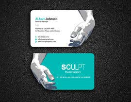 #111 for Business cards for a plastic surgeon's practice by Designopinion