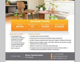 #19 for Design an Investment Flyer by ferisusanty