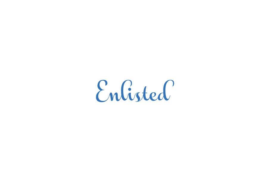 Inscrição nº 265 do Concurso para Custom Cursive fashion font for logo
