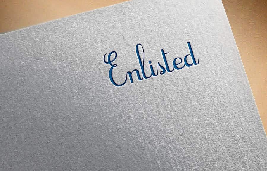 Inscrição nº 38 do Concurso para Custom Cursive fashion font for logo