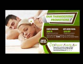 #10 for Design a thanksgiving seasonal promotional banner ad for a spa af maidang34