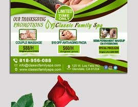 #30 for Design a thanksgiving seasonal promotional banner ad for a spa af youshohag799