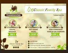 #36 for Design a thanksgiving seasonal promotional banner ad for a spa af ConceptGRAPHIC