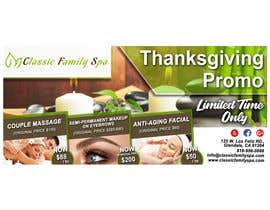 #39 for Design a thanksgiving seasonal promotional banner ad for a spa af ronjurin