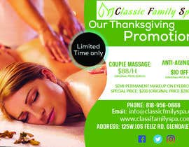 #55 for Design a thanksgiving seasonal promotional banner ad for a spa af mahedi321