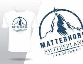 #129 for Design a Mountain T-shirt by fahidyounis