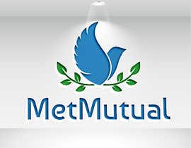 #71 for MetMutual logo design av Tayebjon