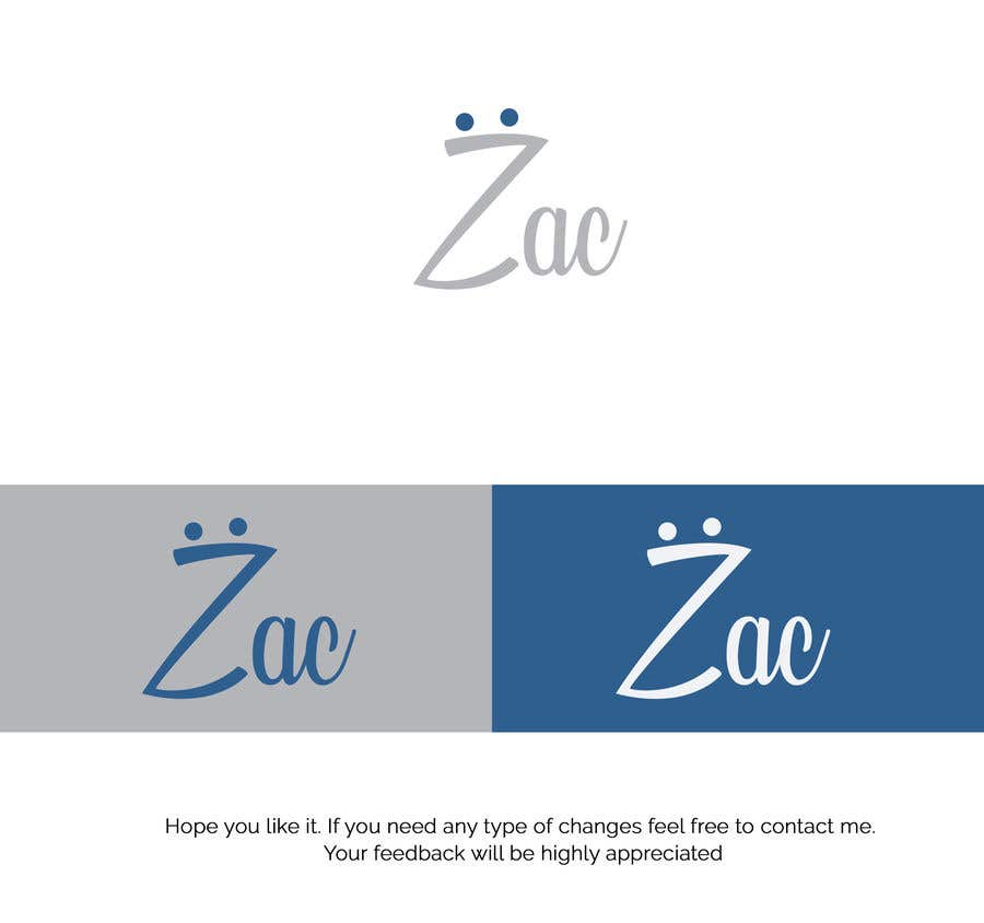 Proposition n°19 du concours need a logo for Zac