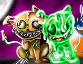 #525 for Draw 3 funny creatures - Up to $5000 payment possible by daniel13ur