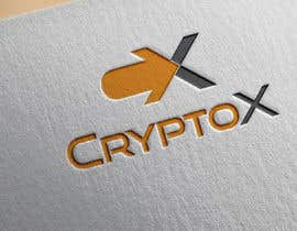 #478 para Logo design for CryptoX por mdmustafiz