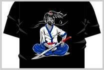 Graphic Design Contest Entry #10 for Samurai T-shirt Design for Cripplejitsu