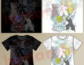 #88 for Samurai T-shirt Design for Cripplejitsu by himanthi