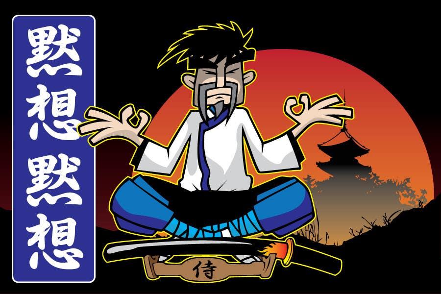 Inscrição nº                                         64                                      do Concurso para                                         Samurai T-shirt Design for Cripplejitsu