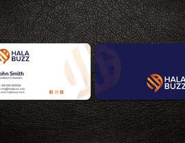 #52 untuk Business Card for HalaBuzz oleh patitbiswas