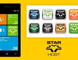 nº 178 pour Logo Design for Star Host par jummachangezi