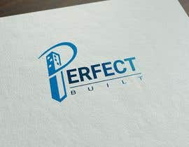 #246 for Design a logo for a building company name PERFECT BUILT by sabrinaparvin77