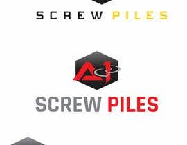 #33 dla Logo Design for ScrewPile Company - See attached for details przez designgale