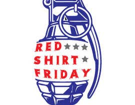 #1 for Red Shirt Friday af febrivictoriarno