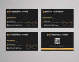 #66 for Design Three (3) Business Cards for StudentTeachstudent.com Partners by sabbir2018
