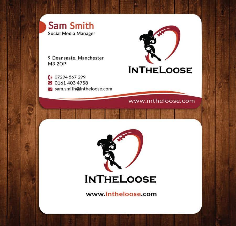 Penyertaan Peraduan #237 untuk Design a Business Card