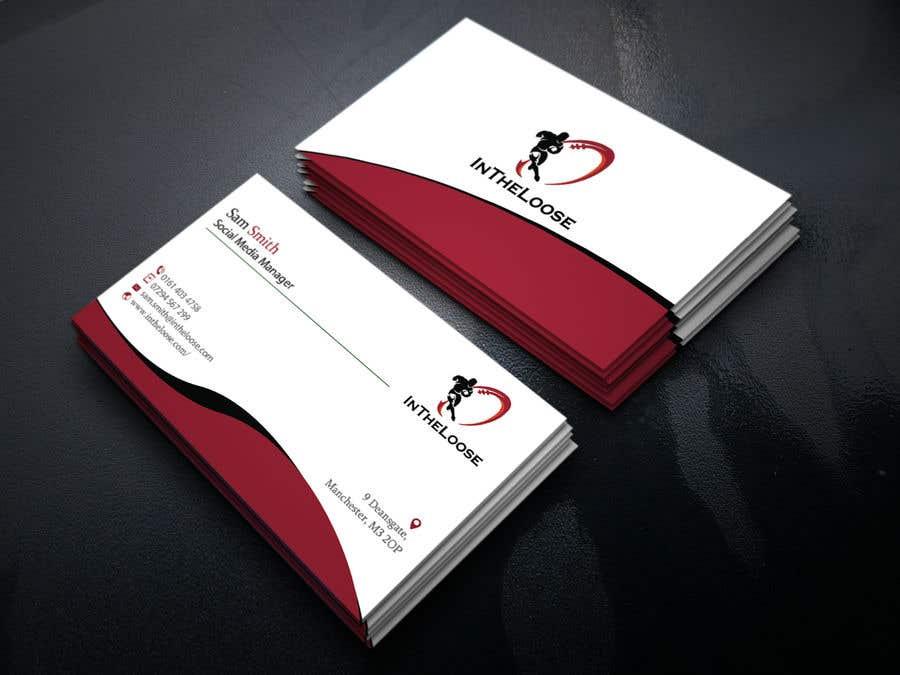 Penyertaan Peraduan #243 untuk Design a Business Card