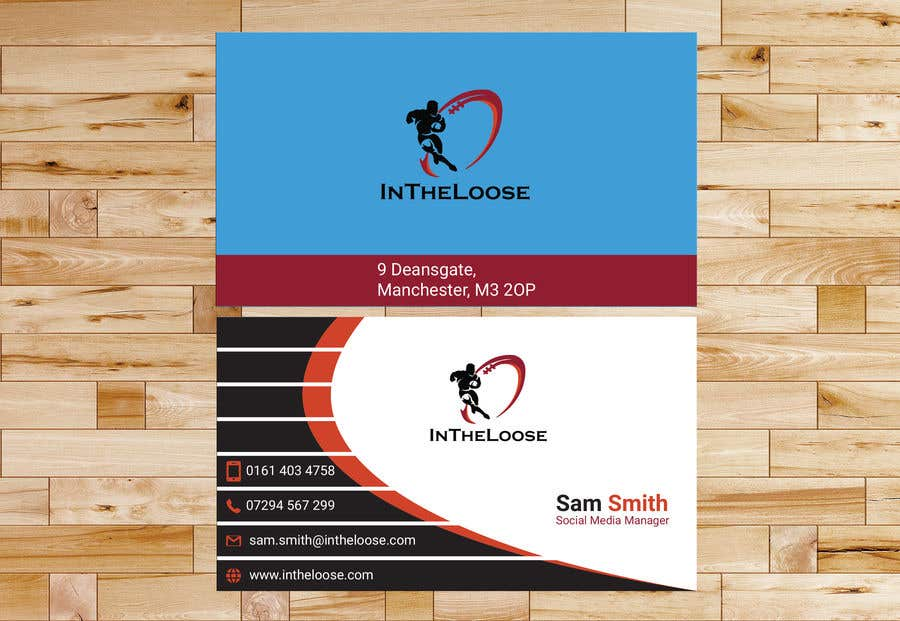Penyertaan Peraduan #242 untuk Design a Business Card