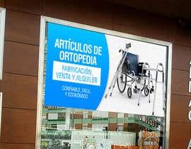#21 para Diseñar un vinilo para escaparate de una farmacia -ortopedia de marionxo