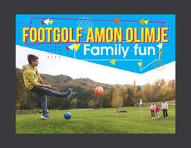 #27 for Footgolf banner by felixdidiw