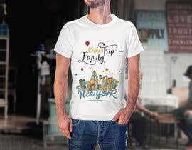 nº 12 pour Need fun T-shirt design - Family trip to NYC par SalmaHB95