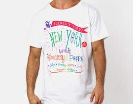 nº 18 pour Need fun T-shirt design - Family trip to NYC par MagicYorko