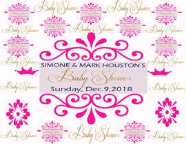 #42 for Baby Shower Banner Design by Mgopulok1