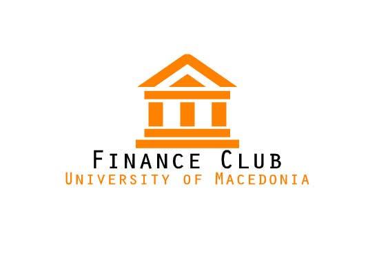 Inscrição nº                                         8                                      do Concurso para                                         Разработка логотипа for Finance Club of University of Macedonia