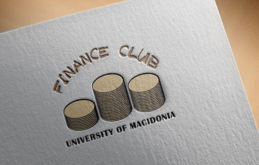 Inscrição nº                                         5                                      do Concurso para                                         Разработка логотипа for Finance Club of University of Macedonia