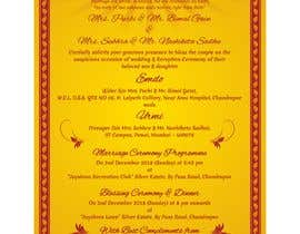 #12 für Build me a E-Wedding Card von SaxenaKuldeep