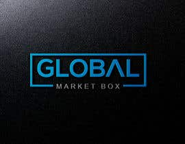 #7 for I need a logo designed for Global Market Box in black and white, thin clean font, maybe including the compass shape and globe. Not too busy. (Photo attached is just an idea to incorporate.) af Bloosomhelena