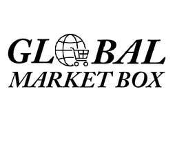 #5 for I need a logo designed for Global Market Box in black and white, thin clean font, maybe including the compass shape and globe. Not too busy. (Photo attached is just an idea to incorporate.) af Defffe
