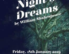 #86 pentru Theatre Poster - A midsummer nights dream de către azzamaydio