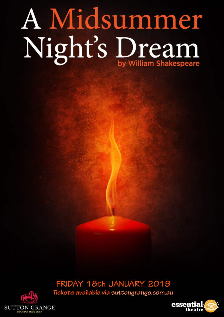 Contest Entry #76 for Theatre Poster - A midsummer nights dream