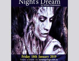 #85 pentru Theatre Poster - A midsummer nights dream de către mail2taniap