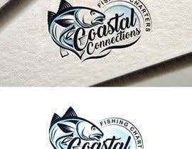 #12 para Coastal Connections Fishing Charters - New Custom Logo Contest por fourtunedesign