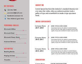 nº 1 pour Design Marriage Bio data Docx [Only for creative designers, no need to code ] par AkterGraphics